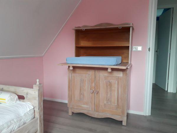 Slaapkamer zomerhuisje
